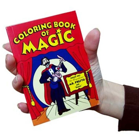 pocket size magic coloring book trick fast shipping magictrickscom - Coloring Book Magic Trick