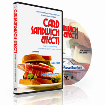 dvd sandwiched seven card sandwich effects fast shipping