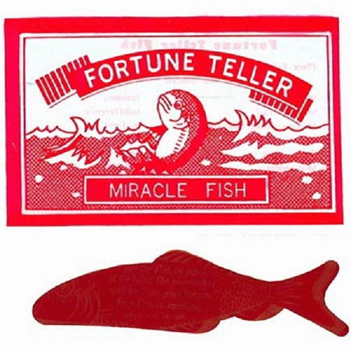 fortune teller miracle fish pack of 10 fortune telling