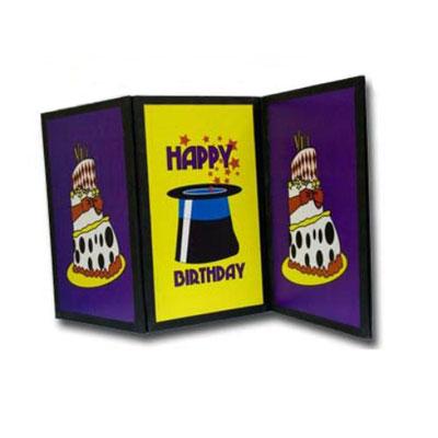 Birthday Card Magic Screen Trick Fast Shipping Magictricks