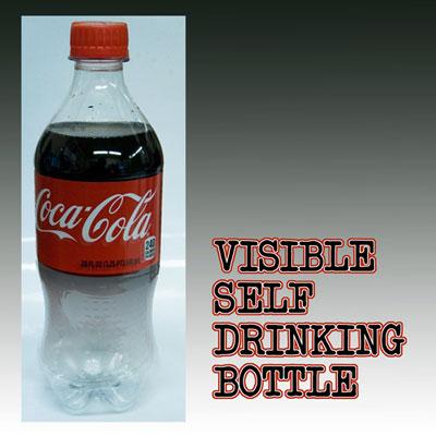 visible self drinking coke bottle magic trick. Black Bedroom Furniture Sets. Home Design Ideas