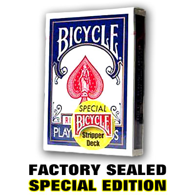 Stripper Deck Factory Sealed Pro Cut Bicycle Poker Size Taper