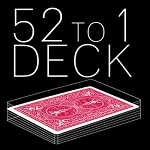 52 To 1 Deck - RED