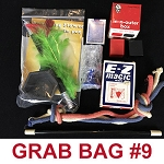 Magic Grab Bag #9 Including Appearing Flower In Pot *PREOWNED*