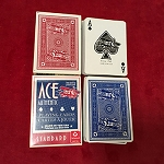 Two Decks of Cartamundi ACE Playing Cards *PREOWNED*