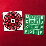 Alphabet Roulette + ONLINE VIDEO