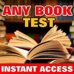 Any Book Test (INSTANT DOWNLOAD)