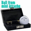 Golf Ball from Mini Briefcase