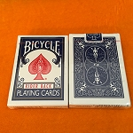 *CLOSEOUT* Vintage Bicycle Rider Card Deck - SEALED BLUE