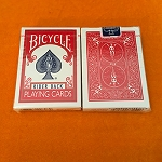 *CLOSEOUT* Vintage Bicycle Rider Card Deck - SEALED RED