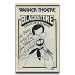 Blackstone Signed Theatre Program - VINTAGE