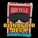 Blindfold Deck (INSTANT DOWNLOAD)