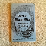 SOLD Best of Mental-Wise (Meisel) - USED BOOK