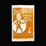 BOOKLET - Jack Miller Linking Rings