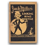 Jack Miller Linking Rings (Miller) - USED BOOK