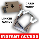 Card Warp + Link-In Cards (INSTANT DOWNLOAD)