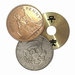Golden Disk Classic Coin (Copper Silver Brass Transposition) + ONLINE VIDEO