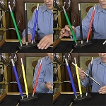 SOLD Deluxe Color Changing Wands Set + ONLINE VIDEO