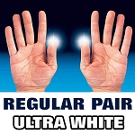 D'Lite - Light from Fingertips REGULAR PAIR Ultra White