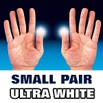 D'Lite - Light from Fingertips SMALL PAIR Ultra White