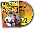 *CLOSEOUT* DVD- Magic 101 Card Sleights #1