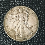 Walking Liberty Folding Half Dollar *PREOWNED*