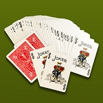 Force Deck- One Way JOKERS Red Back
