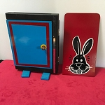 SOLD Fraidy Cat Rabbit with Clown Ending *PREOWNED*