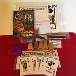 Magic Grab Bag #36 Including Giant Wild Cards *PREOWNED*