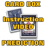 ACCESS PAGE FOR: Card Box Prediction