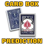 Card Box Prediction (INSTANT DOWNLOAD)
