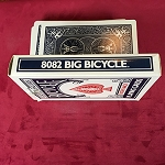 10 OF DIAMONDS Vintage Jumbo Bicycle 50-50 Force Deck *PREOWNED*
