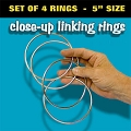 Linking Rings- 5inch Set of 4