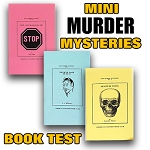 SOLD Mini Murder Mysteries Book Test - PREOWNED