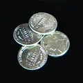 Miniature Nickels - Set of 4