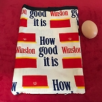 WINSTON Novelty Egg Bag With Egg *PREOWNED*