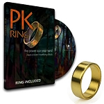 *CLOSEOUT* PK Ring Plus DVD - Gold Size 10