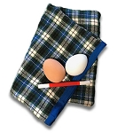 Plaid Superior Two Egg Bag + ONLINE VIDEO