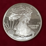Giant One Pound Walking Liberty Proof Coin *PREOWNED*