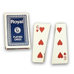 *CLOSEOUT* Split Deck - Royal Magic BRIDGE SIZE