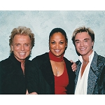 Siegfried and Roy Photo with Laila Ali
