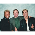 Siegfried and Roy Photo with Lee Majors