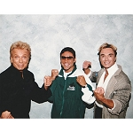 Siegfried and Roy Photo with Oscar De La Hoya