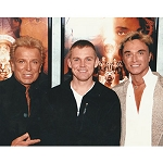 Siegfried and Roy Photo with Rick Schroeder
