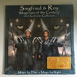 Siegfried and Roy Official Calendar 2002 - SEALED