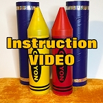 ONLINE VIDEO: Tipsy Turvy Crayons