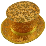 *CLOSEOUT* FANCY GOLD Top Hat with Load Chamber