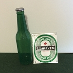 Vanishing Heineken Beer Bottle - SAMPLE