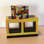 Vanishing Rubiks Cube PREOWNED