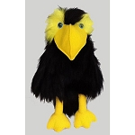 Black Crow Ventriloquist Puppet